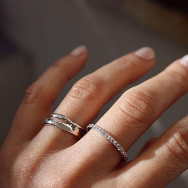 Picture of Wind bold ring | silver