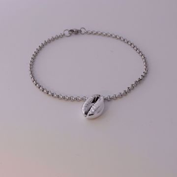 Picture of Shell ankle bracelet | silver
