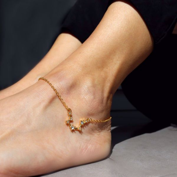 Picture of Constellations ankle bracelet
