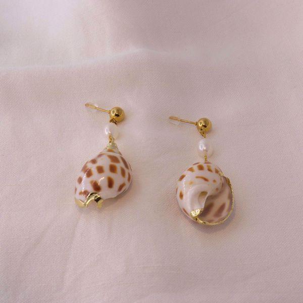 Imagem de Summer nights earrings   golden