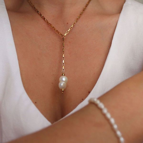 Picture of Pearl lover necklace