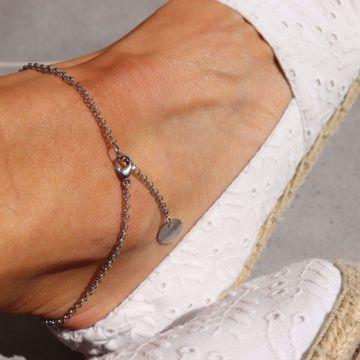 Imagem de Coin ankle bracelet | silver