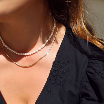 Picture of Francisca necklace | golden