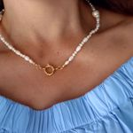 Imagem de Carolina necklace   golden