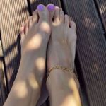 Picture of Ana ankle bracelet | golden