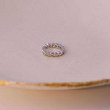 Picture of Melissa huggie earring | silver