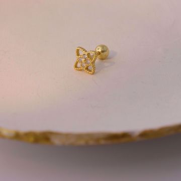 Picture of Flower piercing | golden