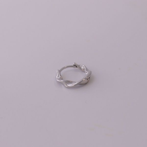 Picture of Carol huggie earring   silver