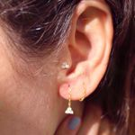 Picture of Sayuri chain earring   golden
