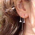 Imagem de Sayuri chain earring | silver