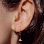 Imagem de Sayuri huggie earring |  golden