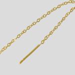 Imagem de Chain earring | golden