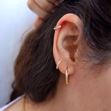 Picture of Beatriz hoops L | golden